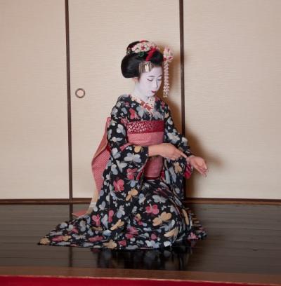 舞妓花の席