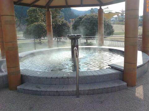 佐野植物公園の足湯